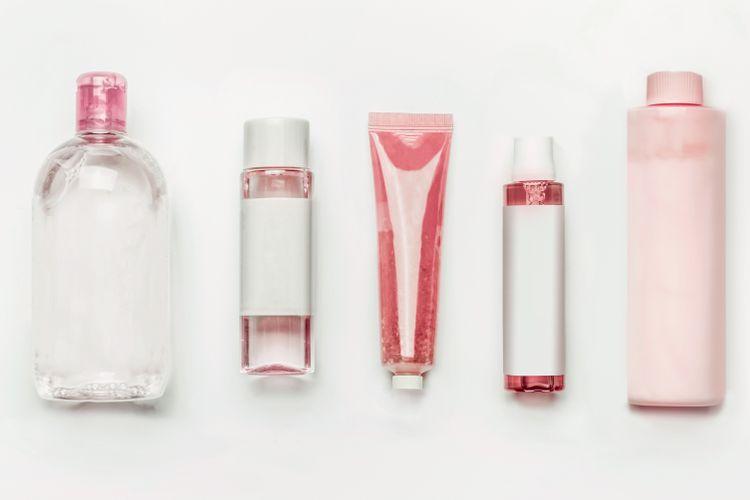 Ilustrasi produk skin care.