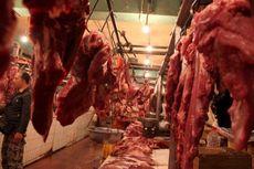 Pedagang di Polewali Mandar Tolak Daging Impor
