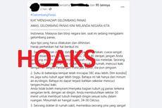 [HOAKS] Gelombang Panas Melanda Indonesia, Malaysia, dan Negara Lain