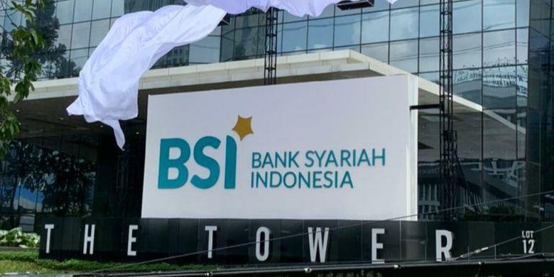 The logo of Bank Syariah Indonesia (BSI)