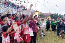Tim Asal Jawa Tengah Juara Liga Berjenjang U-16 Piala Menpora 2019.