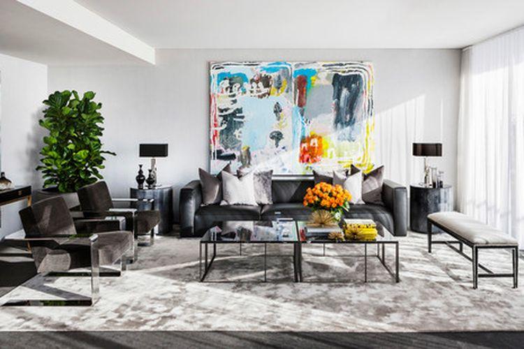 Cara membuat ruang tamu mewah.