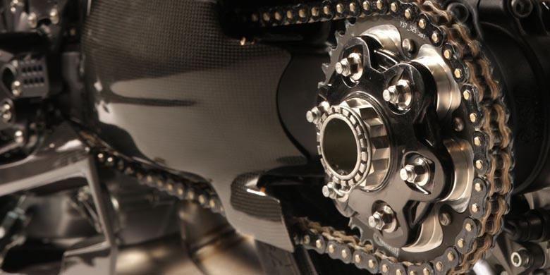 Rantai motor yang ideal.