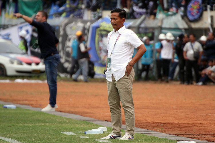 Pelatih Barito Putera, Djadjang Nurdjaman.