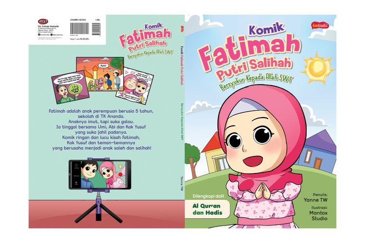 Komik Fatimah Putri Salihah Bersyukur Kepada Allah merupakan komik edukasi penuh makna religius.