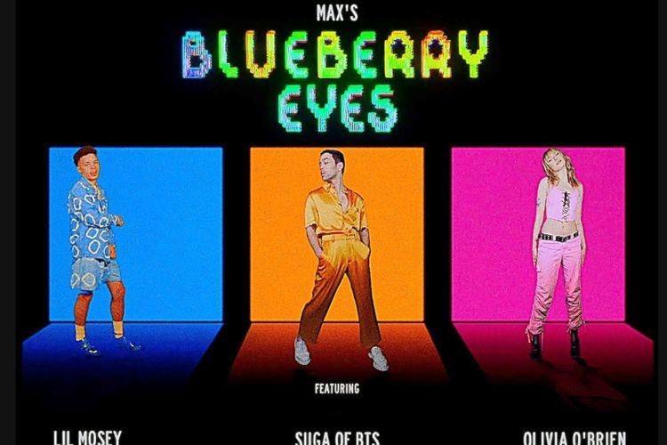 MAX dalam lagu Blueberry Eyes.