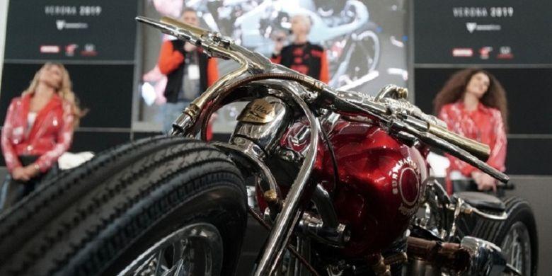 The Iconic Bike Suryanation Motorland 2018 ?Tosan Adji? berhasil masuk tiga besar The King of Motor Bike Expo 2019 di Verona, Italia.