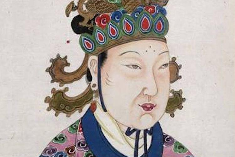 Wu Zetian, seorang pemimpin kejam dari China.