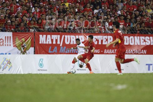 Babak Pertama, Indonesia Vs Vietnam Masih Tanpa Gol