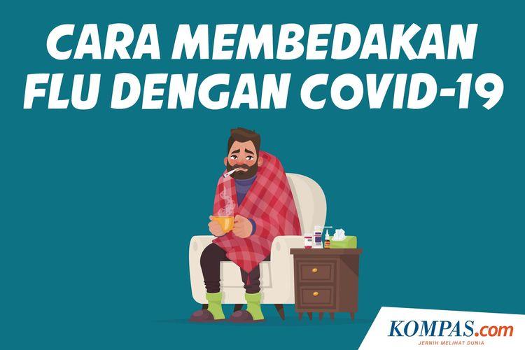 Cara Membedakan Flu dengan Covid-19