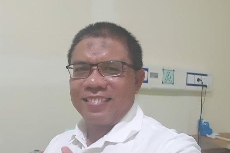 Bakal calon wakil bupati Nunukan Kaltara 2020 Muhammad Nasir, ia dinyakan sembuh pasca terkonfirmasi positif covid19 pada 4 septetember, dan menjalani isolasi di RSUD Kota Tarakan (Nasir)