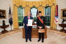 Bertemu Presiden Trump, Dubes RI Sampaikan Komitmen Kerja Sama Tangani Pandemi Covid-19