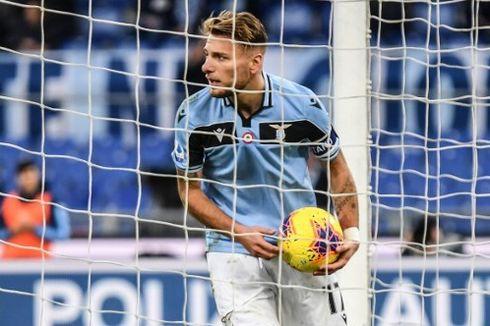 Lazio Vs Brescia, Immobile Selangkah Lagi Menuju Rekor Gonzalo Higuain
