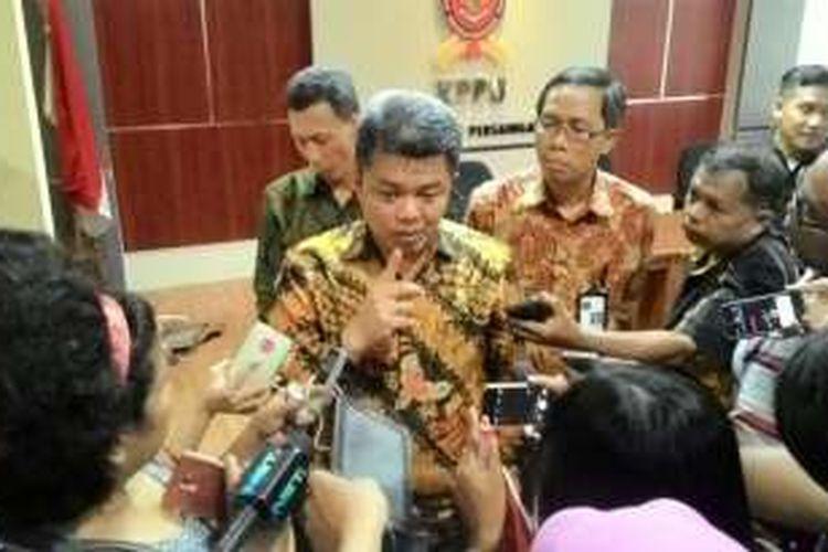 Ketua Komisi Pengawas Persaingan Usaha (KPPU) Syarkawi Rauf di Kantor KPPU, Jakarta, Selasa (7/6/2016)