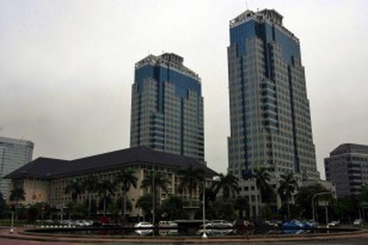 Gedung Bank Indonesia di Jalan MH Thamrin, Jakarta Pusat.