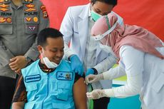 Wakil Gubernur Sulsel Alami Pegal Setelah Disuntik Vaksin Covid-19
