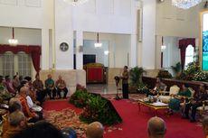 Di Istana, Umat Buddha Doakan Jokowi Dua Periode