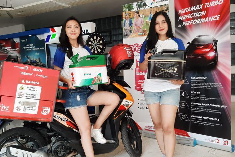 Pertamina Delivery Service di IIMS Motobike Expo 2019