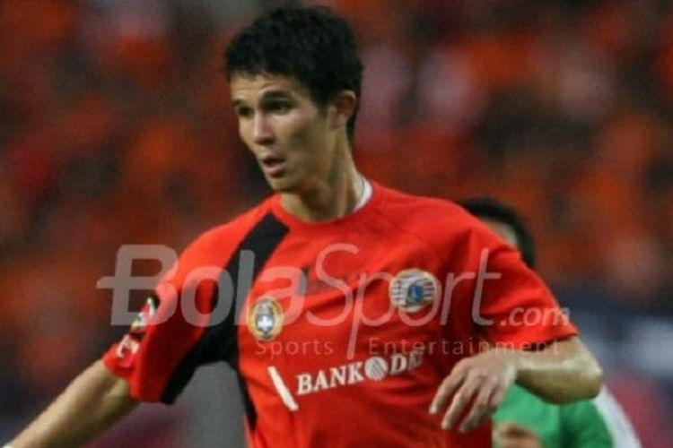 Baihakki Khaizan saat masih memperkuat Persija Jakarta.