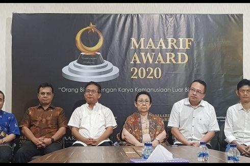 Maarif Award 2020 Digelar Mei 2020, Penjaringan Mulai Akhir Tahun ini
