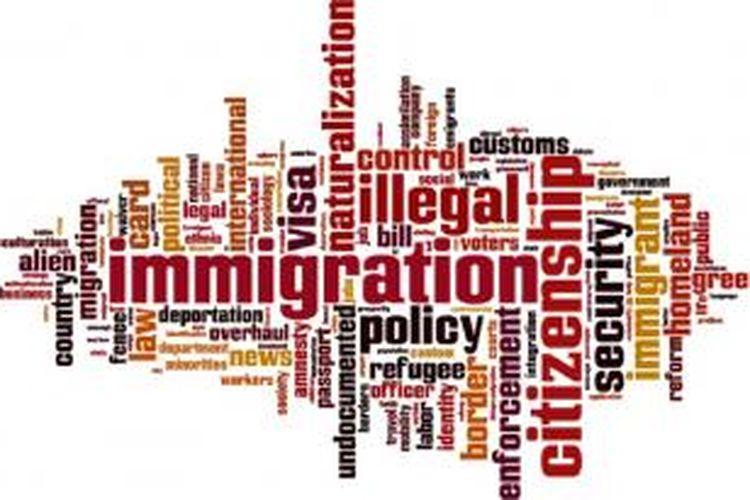 Ilustrasi deportasi imigrasi