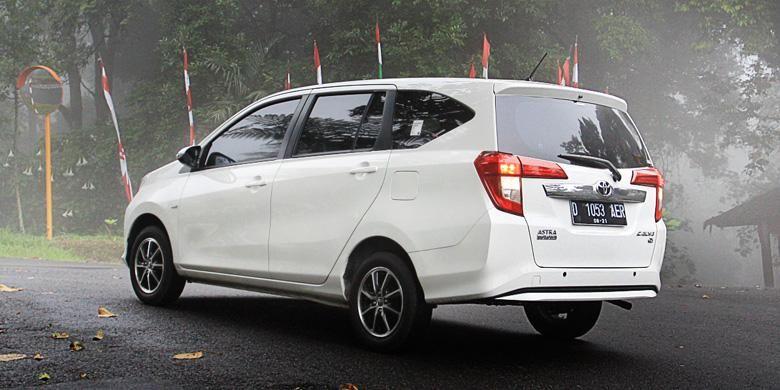 Toyota Calya tipe G.