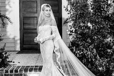 Menikah dengan Justin Bieber, Hailey Baldwin Pakai 3 Gaun Berbeda