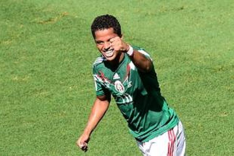Pemain Los Angeles Galaxy asal Meksiko, Giovani dos Santos.