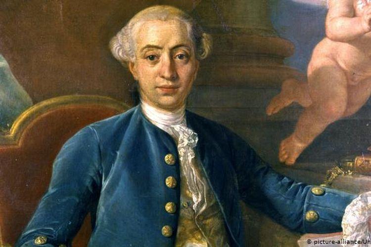Giacomo Casanova, perayu wanita yang dipenjara wanita.