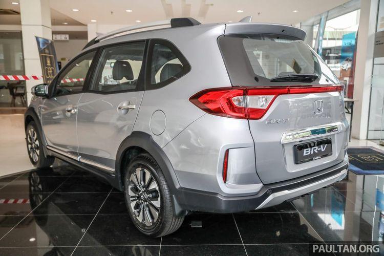 Honda BR-V facelift hadir di Malaysia