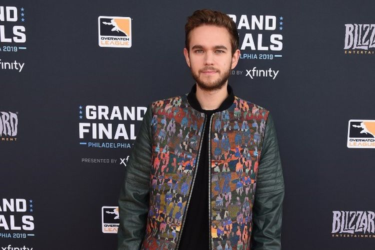 DJ Zedd menghadiri Overwatch League Grand Finals 2019 di Wells Fargo Center, Philadelphia, Pennsylvania, pada 29 September 2019.