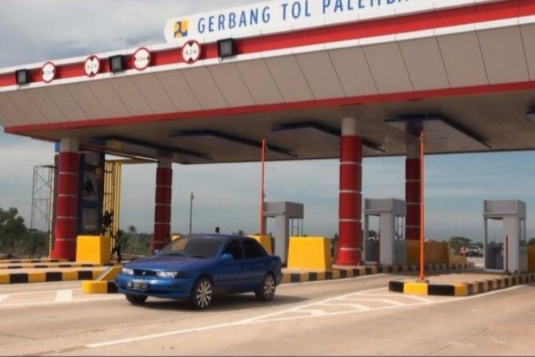 Tol Palindra resmi dibuka untuk umum, Senin (19/6/2017).