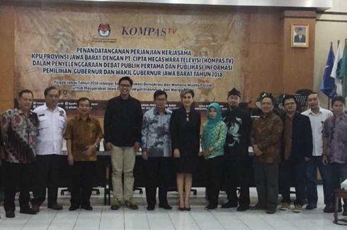 12 Maret, KompasTV Tayangkan Secara Langsung Debat Perdana Pilkada Jawa Barat