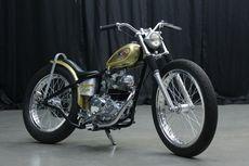 Kawasaki W175 Jadi Chopper Inggris