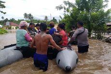 Banjir di Halmahera Utara, Ribuan Warga Bertahan di Sejumlah Titik Pengungsian