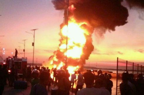 Kapal Muat BBM Terbakar di Selayar, Satu ABK Terluka