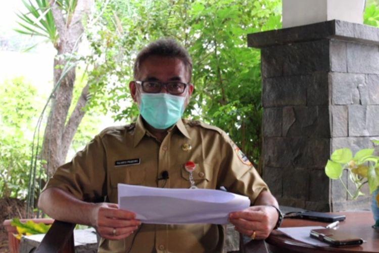 Kepala Dinas Kesehatan Jawa Tengah Yulianto Prabowo melalui video siaran pers.