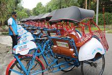 Mimpi Pengemudi Becak Listrik di Yogyakarta Bersaing dengan Ojek