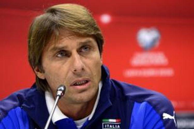Pelatih tim nasional Italia, Antonio Conte.
