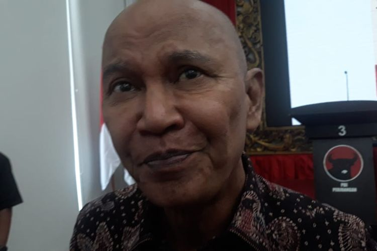 Ketua DPP PDIP Said Abdullah di kantor DPP PDIP, Menteng, Jakarta Pusat, Rabu (8/1/2020).