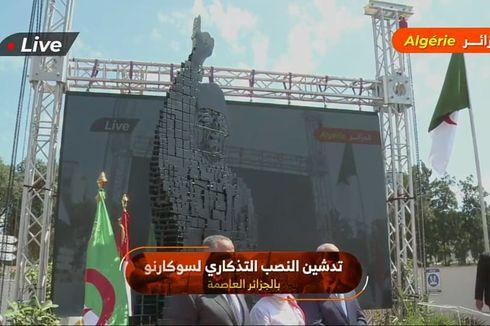 Puan Maharani Resmikan Monumen Soekarno di Aljazair yang Dirancang Ridwan Kamil