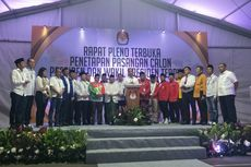 4 Momen Menarik Saat Penetapan Jokowi-Ma'ruf sebagai Paslon Terpilih
