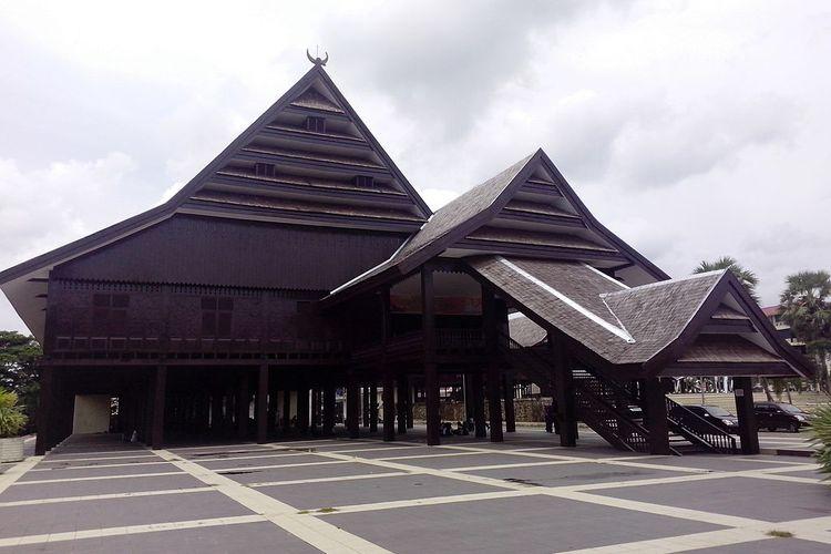 Istana Tamalate, salah satu peninggalan Kerajaan Gowa-Tallo.