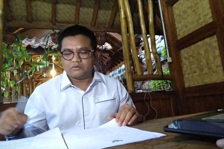 Salah satu anggota Komisi V DPRD Jawa Barat, Ali Rasyid.