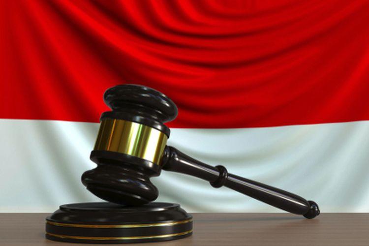 Ilustrasi konstitusi di Indonesia