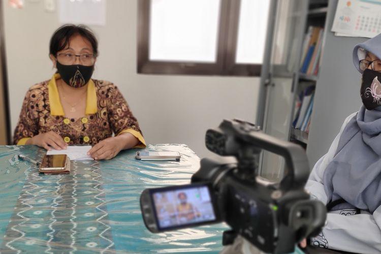 Juru Bicara Gugus Tugas Penanganan Covid-19 Kulon Progo, Baning Rahayujati.