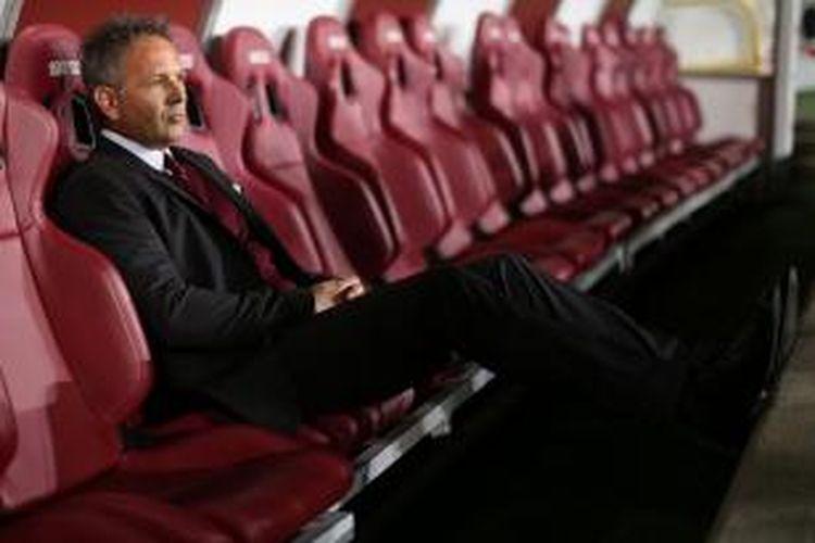 Pelatih AC Milan, Sinisa Mihajlovic.