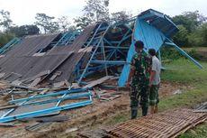 Cerita Warga Saat Ketakutan Melihat Pusaran Angin Merusak Bangunan di Pamekasan