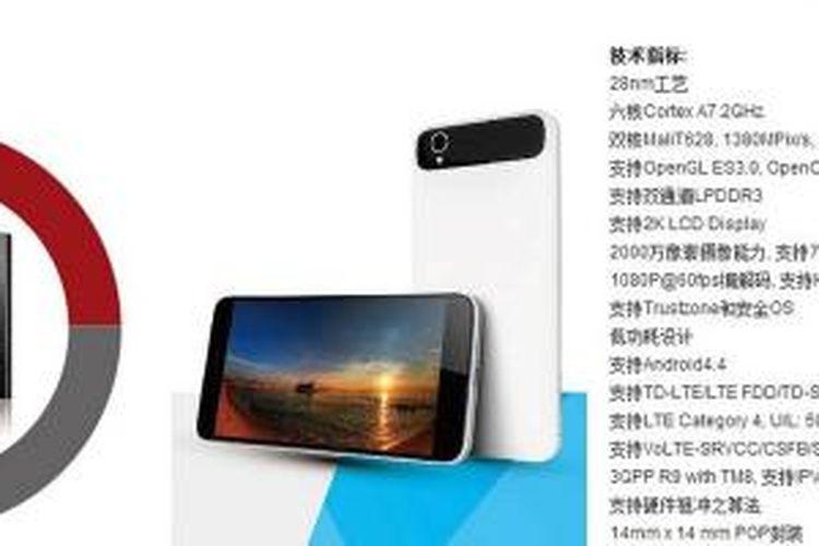 Bocoran foto smartphone Android Xiaomi murah.