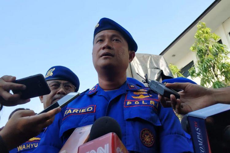 Kepala Seksi Pertolongan dan Penyelematan Ditpolr Air Kompol Faried, Minggu (17/6/2018)